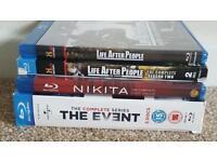 Blueray dvd tv series