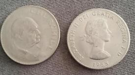 Churchill crown coins