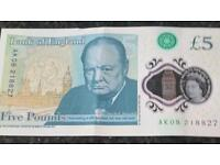New £5.00 note