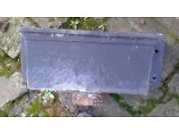 Reclaimed vintage cast iron hopper - ideal for renovating iron guttering or as planter