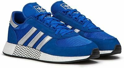 Adidas Mens Marathon X5923 Running Trainers Active Sneakers  Blue