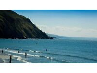 27 july 1 week July £500 Clarach Bay Holiday Village chalet/caravan with sea view Aberystwyth Wales