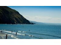 Chalet to let on Clarach Bay Beach Holiday Village Aberystwyth with sea/hill views and entertainment