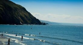 7 nights June 15 Clarach Bay Village chalet/caravan wales holiday sea view Aberystywth Beach pool