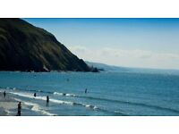 3 August 1 week Clarach Bay Holiday Village Aberystwyth Wales in chalet/caravan with sea view