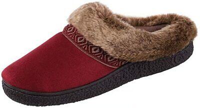 Isotoner Women's Smartzone Gel Comfort Technology Scuff Slippers - Size XL