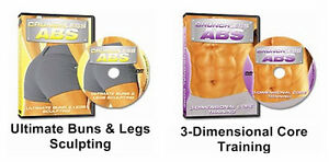 *** Crunchless Abs 9 Disc Set of Extra Videos –NEW! ***