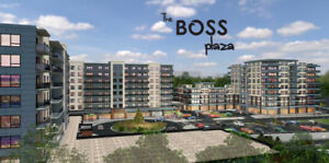 BRAND NEW BUILDING 1 BED (+DEN),2 BED, AT BOSS PLAZA FOR RENT