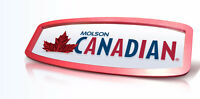 LARGE MOLSON CANADIAN BEER MIRROR SIGN