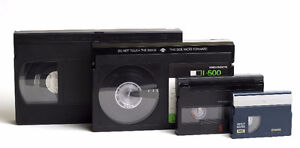 CONVERT VHS & CAMCORDER VIDEO TAPES TO DVD AND DIGITAL MEDIA