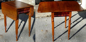 Antique Cherry Drop-leaf Table