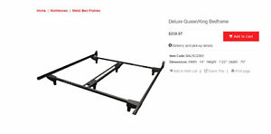 Bed Frame - King/Queen