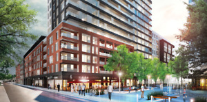 Old Montreal ~ NEW 3 1/2 Condo (8th floor) with PARKING included