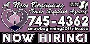 NOW HIRING.... HOME SUPPORT WORKERS!! St. John's Newfoundland image 1