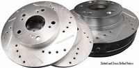 Chevrolet Chevy: OE, Slotted, Cross Drilled Rotors & Brake Pads