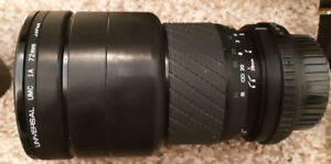 Sigma Zoom 7 Multi-Coated lens Japan for Pentax - K1:4 - 5.6f=