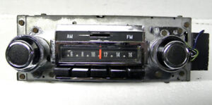 1970 71 72 Buick AM FM Delco Radio W Fader Working GM Factory