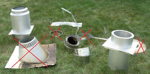 Chimney Stove Pipe Parts from Stainless Steel Insulated Chimney Kingston Kingston Area image 7