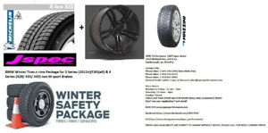 BMW Winter Tires n rims Package for 3 Series (2012+)(F30)(all) &