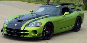 1992-2017 Dodge Viper Gts coupe or convertible srt