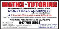 Civil Engineer, Teaching  Math with Money-Back Guarantee, in Sca
