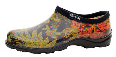 Sloggers Rain and Garden Shoe Women's Size 9 Midsummer Black