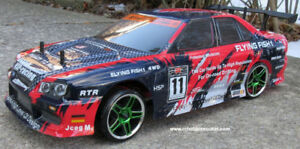 RC Drift Car Electric 1/10 Scale 4WD 2.4G 1 YR Warranty