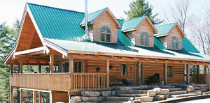 EcoLog Concepts Log Home Kit Contract Deposit for sale