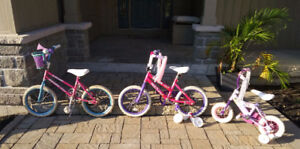 Childrens bikes for sale - prices inside ad