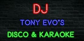 DJ TONY EVO FOR HIRE