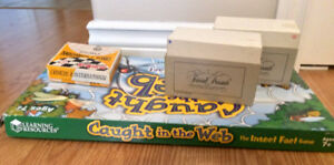 $2 Board Games - Caught in the Web, 80s Trivial Pursuit