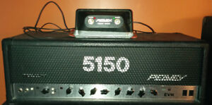 Peavey EVH 120 watts + footswitch + cab 4x12 + phaser + flanger