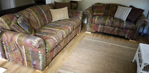 *** LOUNGE SUITE - Two Couches (Sofas) ***