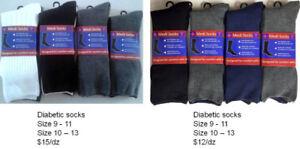 $15/12 Pair Wholesale New Original Packing Diabetic Socks