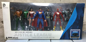 Justice League Action Figures 7-Pack Box Set