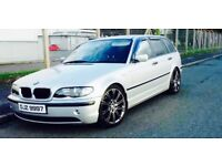 BMW 320D WITH 1 FULL YEAR MOT LOVELY ESTATE excellent MPG