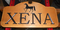 Hand Carved Wood Signs - Great for Cottages, Trailers, and Home