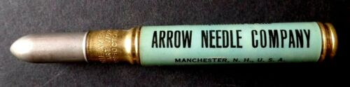 Antique ARROW LATCH NEEDLES Compliments of the ARROW NEEDLE COMPANY