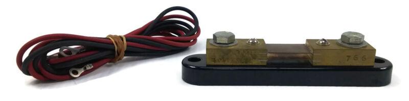 Simpson Electric 766 Current Shunt 100 Amps 50 MV