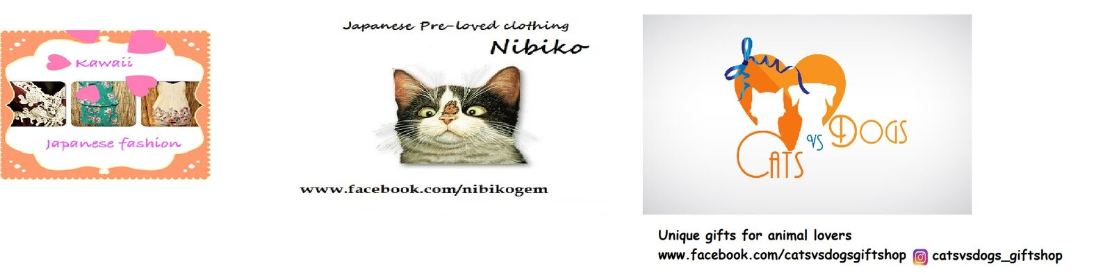 Nibiko/Cats VS Dogs gift shop