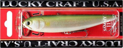 LUCKY CRAFT SW Sammy 115-701 Pearl White