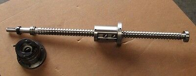 Y-axis Ball Screw Assembly 31.5 Length W Bearing Housing Fr Kitamura Mycenter2