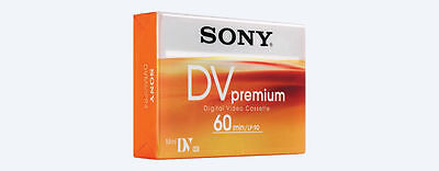 3 Sony MiniDV DVM 60 Premiun Camcorder tapes SP60 - LP90
