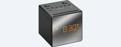 Sony ICFC-1 Alarm Clock AM/FM Radio LED Black ICFC1 Large & Easy to Read LCD