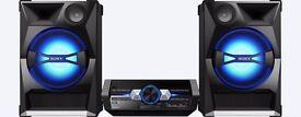 SONY SHAKE-33 2200W HIGH POWER AUDIO SYSTEM