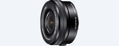 SONY SEL E 16-50 mm /3,5-5,6 PZ OSS Objektiv für NEX und A6000 Neu schwarz bulk