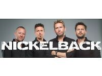 4 x Nickelback Tickets - Monday 24th October - SSE Hydro