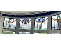 Beautiful original cathedral stained glass
