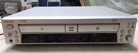 SONY RCD-W100 Great Double CD Recorder/Player-Superb Sound