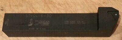 Dorian Stvol16-3d Threading Tool Holder Left Hand On Edge 1 Shank Tnmc 38 Ic